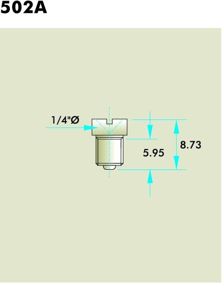 Flush Type Fitting 502A